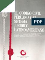 El Codigo Civil Peruano y El Sistema Juridico Latinoamericano