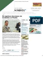 01-07-2012 Se Registran elecciones sin incidentes en Puebla - eleconomista.com.mx