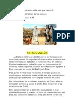 Caracteristicas de Los Fariseos