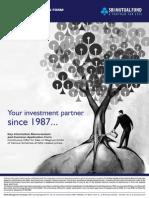 Key Information Memorandum and Common Application - Equity Schemes (2012)