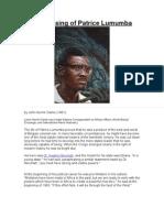 4905620 the Passing of Patrice Lumumba by John Henrik Clarke