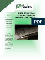 INFORME ESPECIAL - Impuesto a Las Ganancias