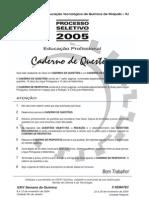 Prova Tecnico 2005