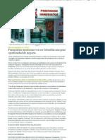 """""""Franquicias ven en Colombia una gran oportunidad de negocio"""" 4 de Septiembre de 2011-Vanguardia"""