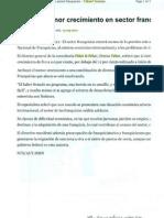 """""""Estiman menor crecimiento en sector Franquicias"""" 14 de Septiembre de 2011-Yahoo! Noticias"""