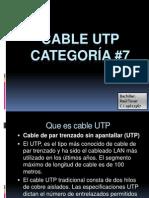 Presentacion Cable Utp categoría 7