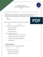 Questionnaire Communication Globale