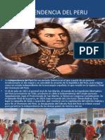 Independencia Del Peru-franco