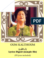 Kalthoum Sample