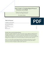 a thematic teachers guide to teaching digital womens literature