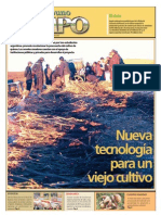 Diario El Tribuno-Maquina Trilladora y Venteadora de Quinua