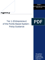 Tier 1 Entrepreneur Guidance 1
