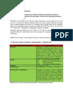 Plan de Desarrollo Matrices 2009