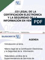 Marco Legal Certificacion y Seguridad Eletrponica