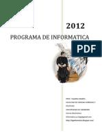 Cronograma de Clases 2012(1er Grupo)