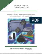 Manual de Prácticas de Química Analítica II