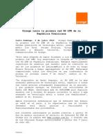 Nota de Prensa 4g Lte v2