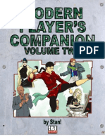 D20 Modern - Rulebook - D20 Modern Player's Companion Volume