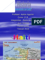 .La independencia de Haiti