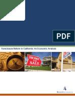Foreclosure Reform Analysis FINAL