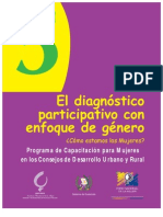 Diagnostico Participativo Con Enfoque de Genero