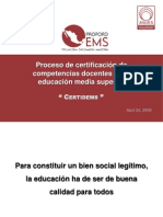 proceso de certificación  propuesta de una estrategai didactica