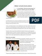 Cocina Nikkei, Fusion Con La Cocina Peruana