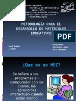 Metodología para El desarrollo de Materiales