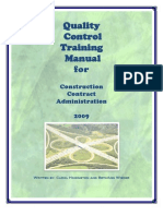 2009 QCTM Manual