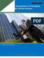 Las Economías Emergentes y el Paradigma del Nuevo Rol del Talento Humano - Marino León M