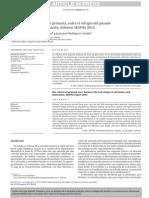 Atención Primaria de Salud APS (España; 2012) Informe SESPAS 2012