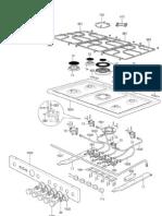 La Germania stove parts diagram part 4