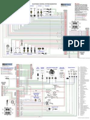 INTERNATIONAL MAXXFORCE diagrama | Turbocompresor | Acelerador on