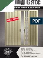 Bahan Folding Gate Klas