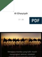 Al-Ghasyiyah 17 - 26