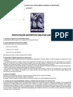 Manual de Conocimientos Sobre El Reglamento General de Infanteria