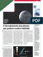 Un novo planeta que podería ser habitable