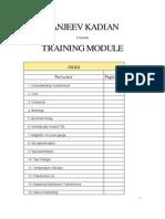 Training Module Manufacture Transformer