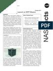 598567main 65121-2011-CA000-NPP CubeSat Factsheet FINAL