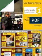 Temps Forts Polynesie 1ere Du 07 Au 13 Juillet 2012 Sem 28
