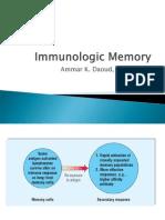 (17) Immunologic Memory