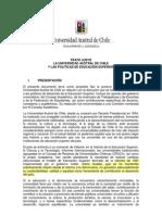 Universidad Austral de Chile y Politicas Educacion Superior
