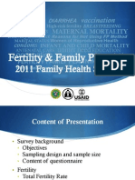 Fertility and Family Planning