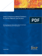 India Undernourished Children Final