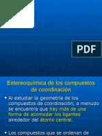 Clase n 3 Estereoisomera en Complejos