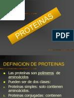 presentación proteinas