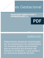 Diabetes Gestacional IMSS