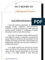 Library Management System VB Project Documentation