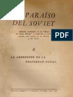 EL PARAÍSO DEL SOVIET II - ABSORCIÓN DE LA PROPIEDAD RURAL