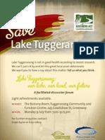Lake Tuggeranong Forum Flyer2 Email